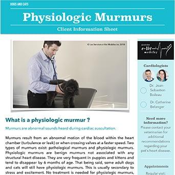 Physiologic Murmurs