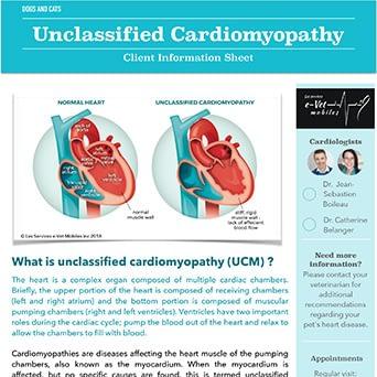 Unclassified Cardiomyopathy