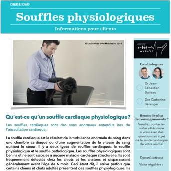 Souffles physiologiques