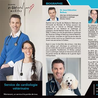 Brochure cardiologie vétérinaire